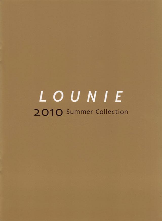 LOUNIE(ルーニィ)通販:LOUNIE(ルーニィ)2010夏物:ルーニィ公式カタログ2010年SummerCollectionの実物大です!ルーニィの'10夏展示会も要チェックです♪