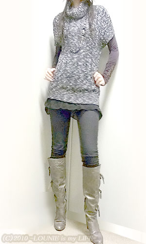 LOUNIE(ルーニィ)通販:Stola.(ストラ)'09冬物★オフタートルニットであったか!