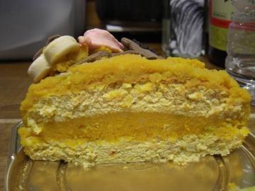 華ケーキカット