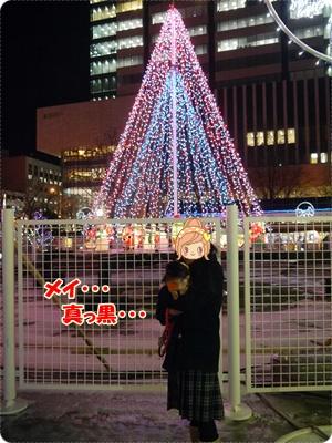 札幌大通りのイルミ