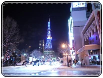 雪祭りテレビ塔
