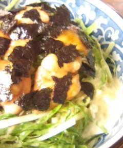 鶏照り焼きキャベツ丼10