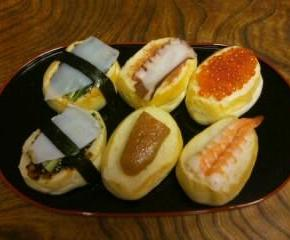 寿司サンドイッチ17
