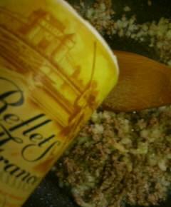 夜食用ボロネーゼスパゲティ6