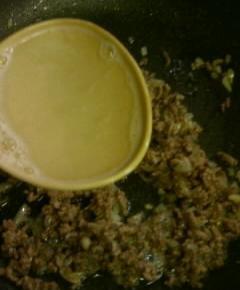 夜食用ボロネーゼスパゲティ9