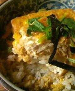 揚げ豆腐丼13