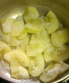 リンゴトースト4