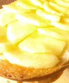 リンゴトースト10