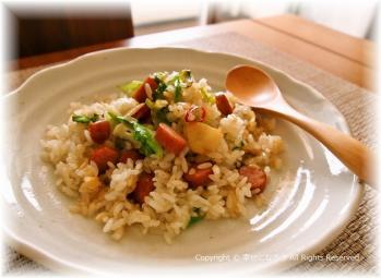ペペロンご飯