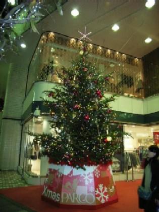 パルコのクリスマスツリー2