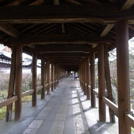 通天橋の内側