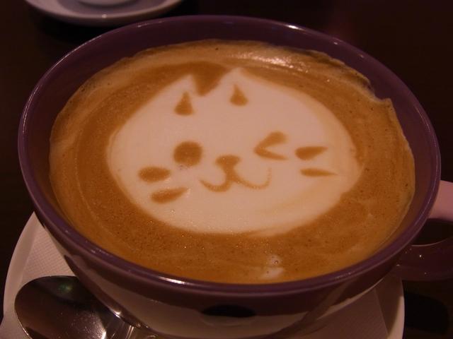 ねこまめカフェのねこまめちーの「ねこ」