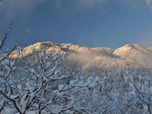 4山景色ズームイン