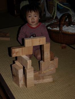9積み木のKAN太