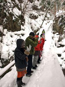 5雪の中のプログラム