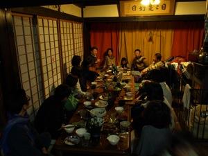 8地球暦ワークショップ夕食
