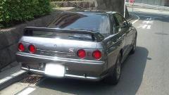 BNR32 GT-R Rear