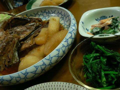 2009年12月4日夕食