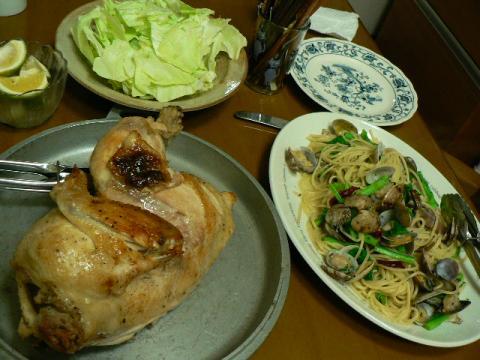 2009年12月7日夕食