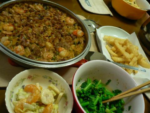 2009年12月10日夕食