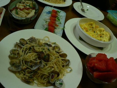 2010年1月10日夕食