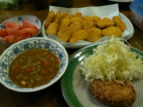 2009年12月12日夕食