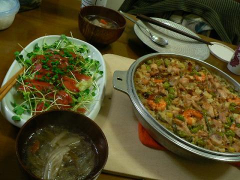 2010年1月13日夕食