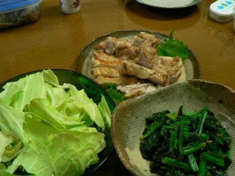 2009年12月14日夕食