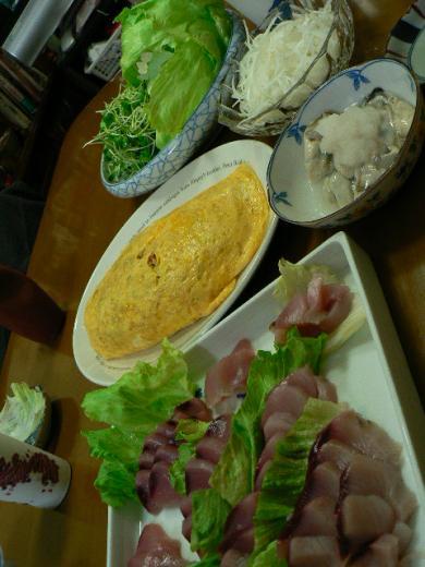 2009年12月15日夕食