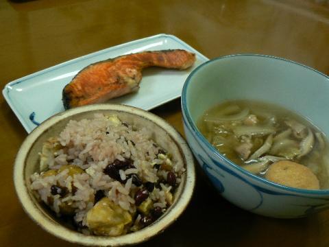 2009年12月21日夕食