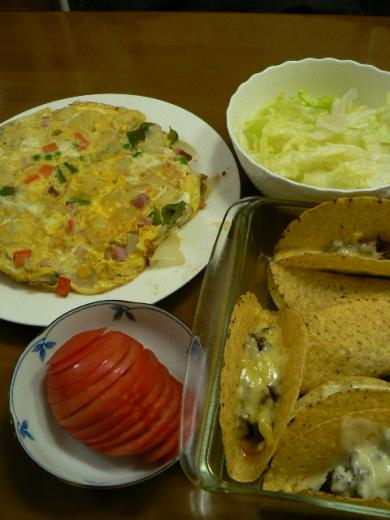 2009年11月24日夕食