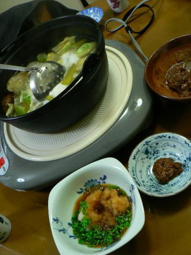 2009年12月24日夕食