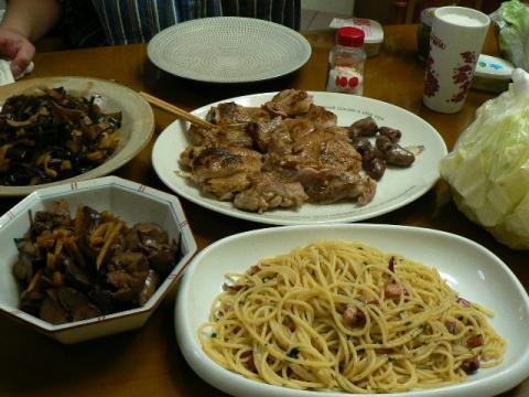 2009年11月30日夕食