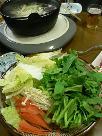 2010年12月25日夕食