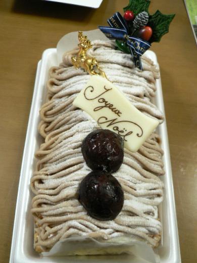 2010年12月25日クリスマスケーキ