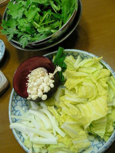 2010年1月15日夕食