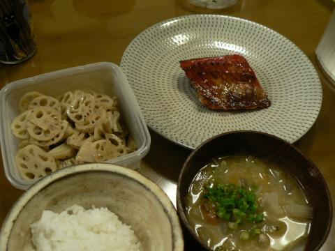 2011年1月25日夕食
