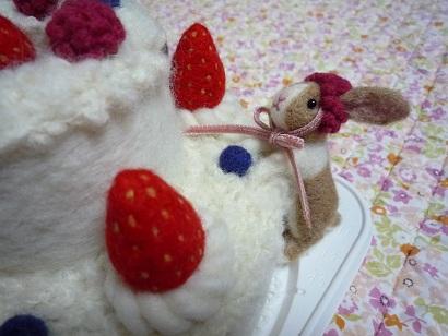 羊毛ケーキ3