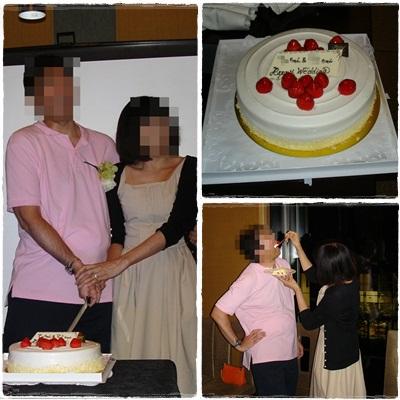 結婚パーティ