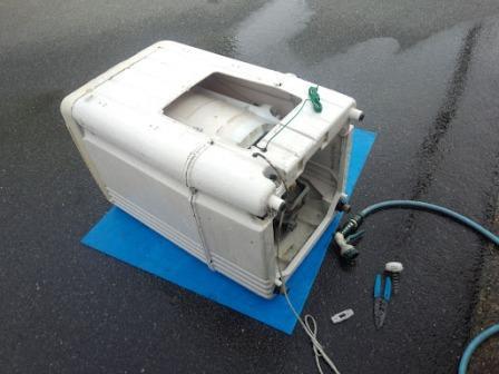 ④全自動洗濯機修理