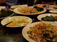 台湾旅行 2日目 九#20221; 夕飯1