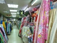 台湾旅行 4日目 永楽市場 布問屋街