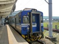 台湾旅行 2日目 新幹線から乗り継いだ在来線