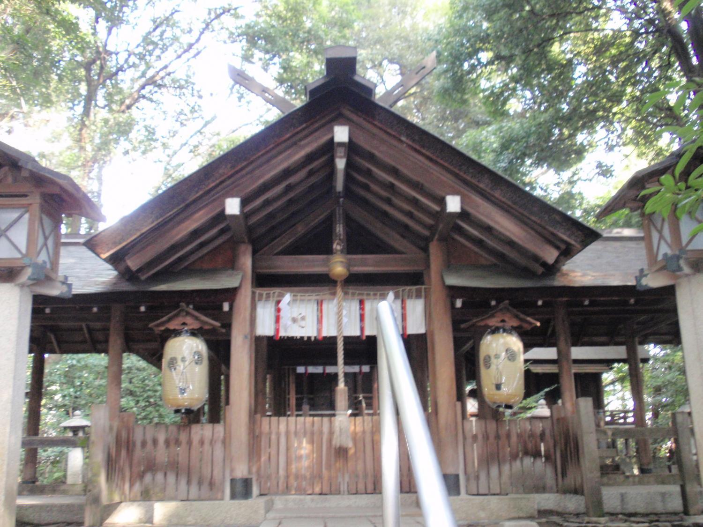 木島神社・拝所
