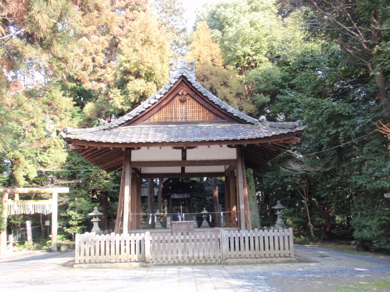 木島神社・拝殿
