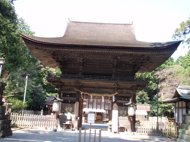 御上神社・楼門