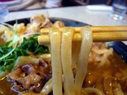団 カレー麺 .
