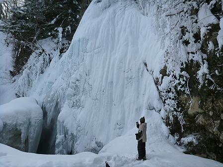 県民の森七滝氷瀑10(2013.1.30)