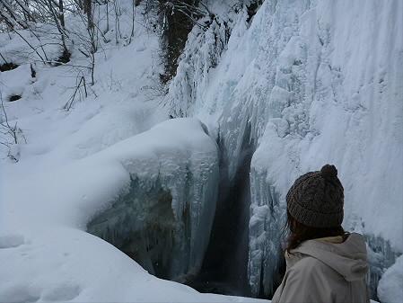 県民の森七滝氷瀑11(2013.1.30)