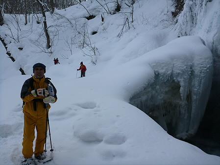 県民の森七滝氷瀑12(2013.1.30)